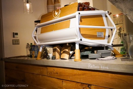 Up to you coffee アップトゥーユーコーヒー エスプレッソマシン サンレモ レーサー SANREMO racer